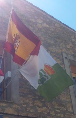 Banderas del Ayuntamiento de Viana de Jadraque